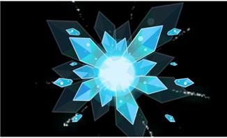 漂亮冰块特效flash动画短片
