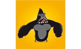 主页 矢量素材 矢量动物 > 动漫形象嚎叫金刚猩猩设计素材  价格  0