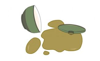 碗里面的药倒一地的动画