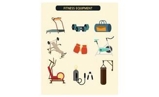 扁平化健身器材跑步机哑