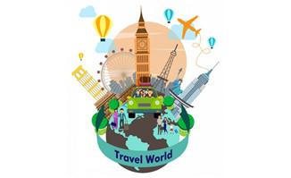 世界各国旅游地图标志建