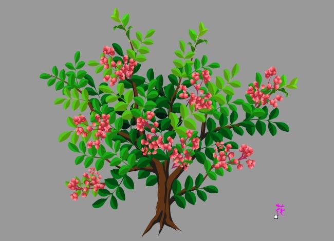花椒树植物素材flash动画素材下载图片