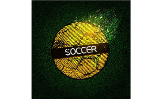 足球赛事比赛创意背景设