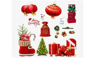 圣诞主题元素各种素材p