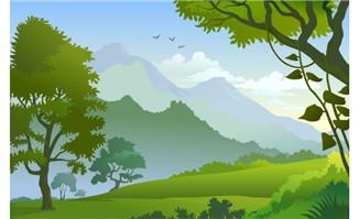 flash动画短片制作场景大树