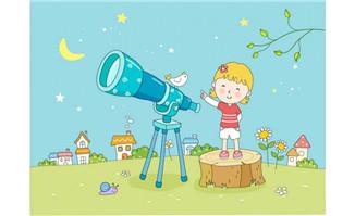 小天文学家儿童天文梦漫