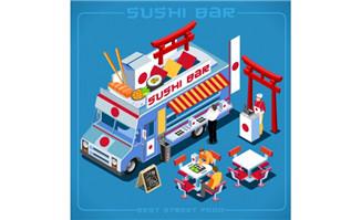 日本食物日本风格的美食