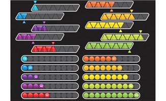 游戏创意多款加载条设计