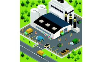 工厂和物流中心厂房设计