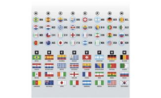 世界各国的国旗图标设计