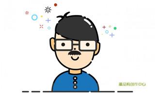 MBE风格的动漫卡通爸爸形象设计素材下载