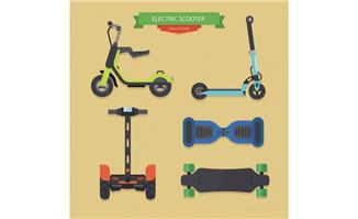 电力科技产品滑板代步车