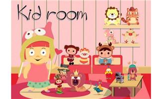 在房间里面的各种儿童玩