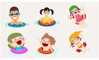 体育运动 - 漫品购_mg动画短片素材_flash源文件_动漫矢量图免费素材