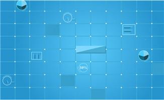 芯片电路板创意动画视频