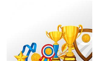 奖杯金牌盾各种体育赛事