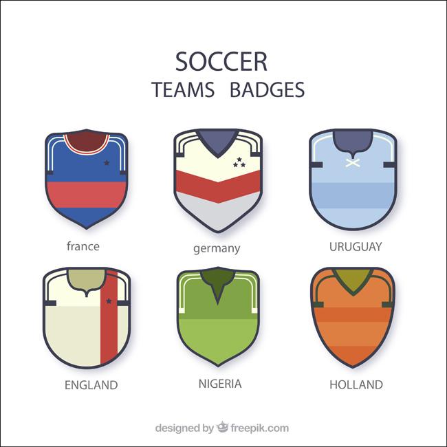 足球队队服矢量的背景造型设计图形素材cad好玩的绘制徽章图片