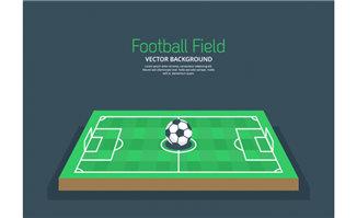 三维足球场模型设计素材