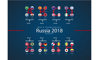 2018俄罗斯国旗元素素材
