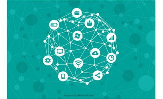 互联网图标互联网络创业