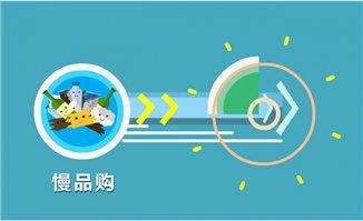 扁平化圆圈元素图标动画