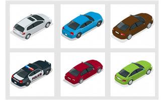 不同用途的小轿车造型设