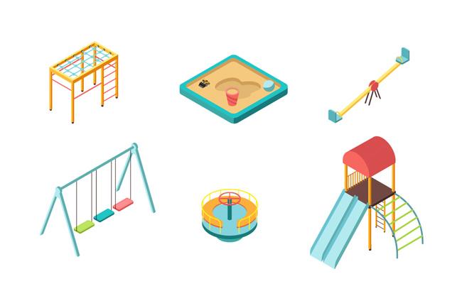 主页 矢量文件 体育运动 > 公园里面的儿童游乐设备设计  热门素材