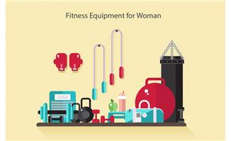 健身房的沙袋拳击运动设备装置设计