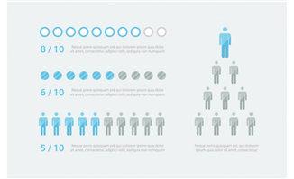 人物信息图表图片