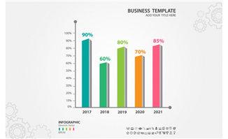 业务数据表背景图设计矢