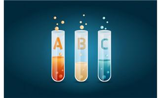 A B C 彩色试管  试管泡泡