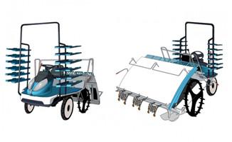 农用机械现代化农业手绘农机造型设计