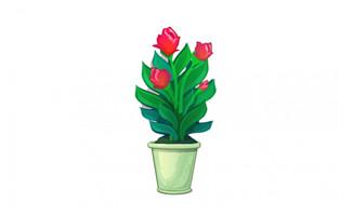 盆栽绿植花卉素材下载