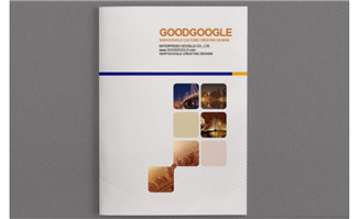 高端简洁企业画册设计模板素材