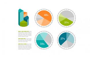 创意商务信息图表设计矢