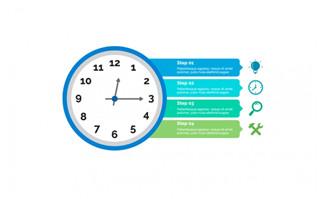 钟表图表模板设计