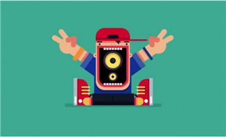 MG人物音频节奏图像可视化效果制作