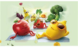 卡通食品安全类主题人物动漫形象设计