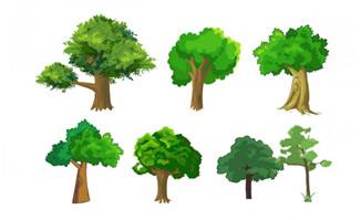 植物大树景观树木造型设计道具