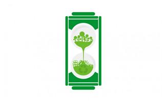 绿色环保电池图标设计矢