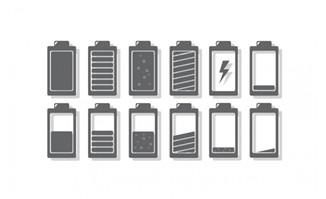 多种电池图标图片