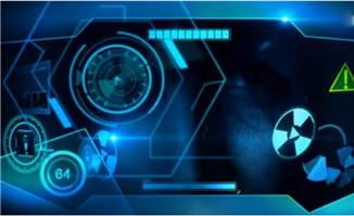 HUD高科技数字元素动画效