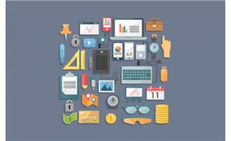 商务办公素材元素设计矢