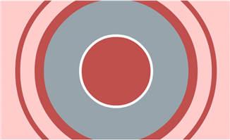 表现百分比的动画圆圈特效模板