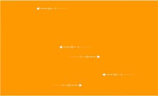 鱼骨造型线条横向移动的动画效果背景