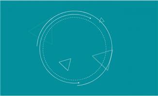 科技感线条特效圆圈动画模板素材