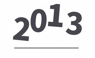 跳动的年限时间创意数字