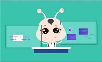 线上教育APP动画宣传片制作元素模板