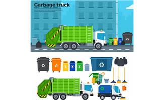 垃圾回收环保垃圾分类主