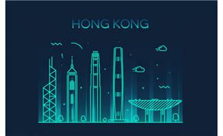 香港标志性建筑图片